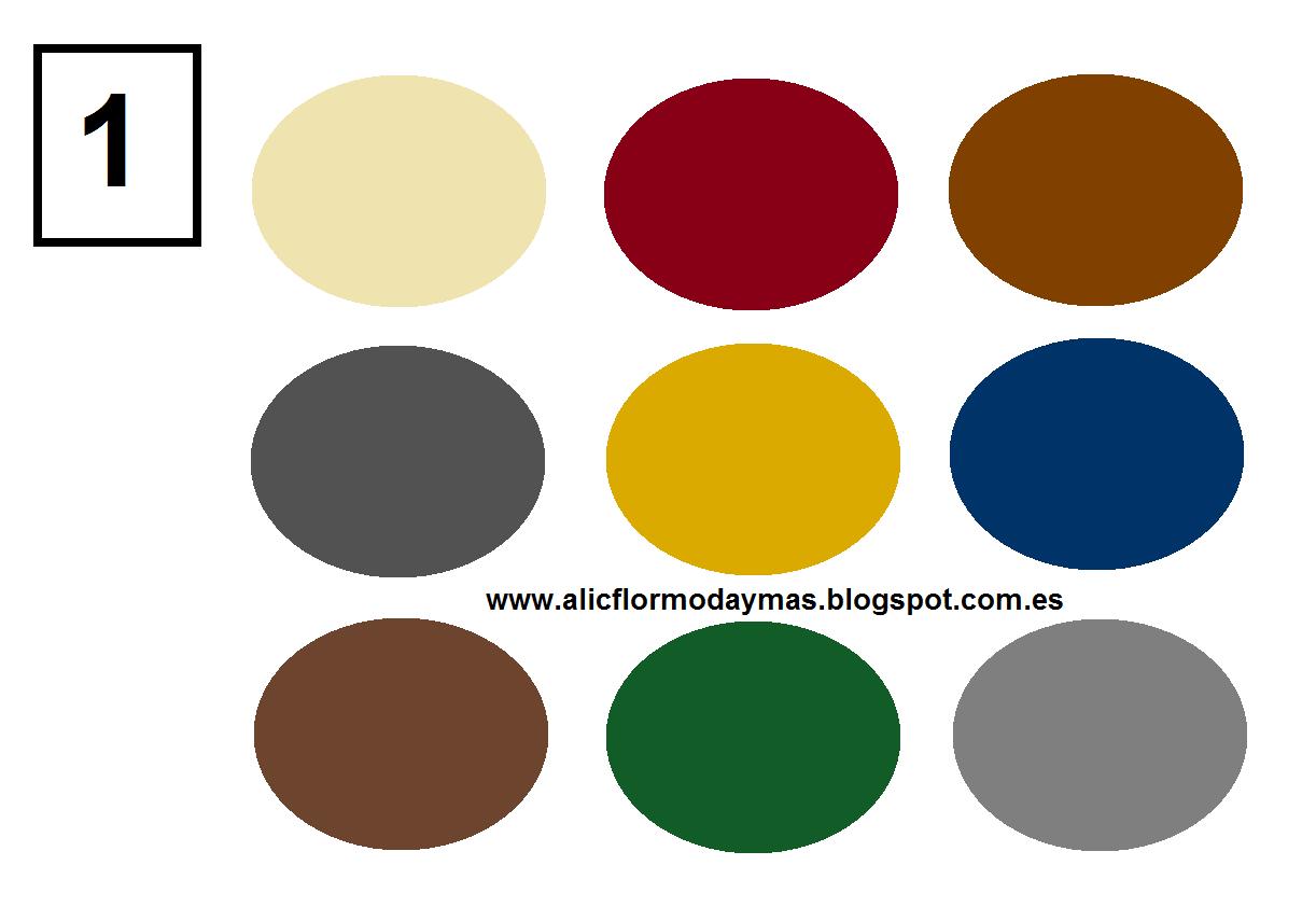 Alicflor moda y test del estilo - Como hacer colores ...