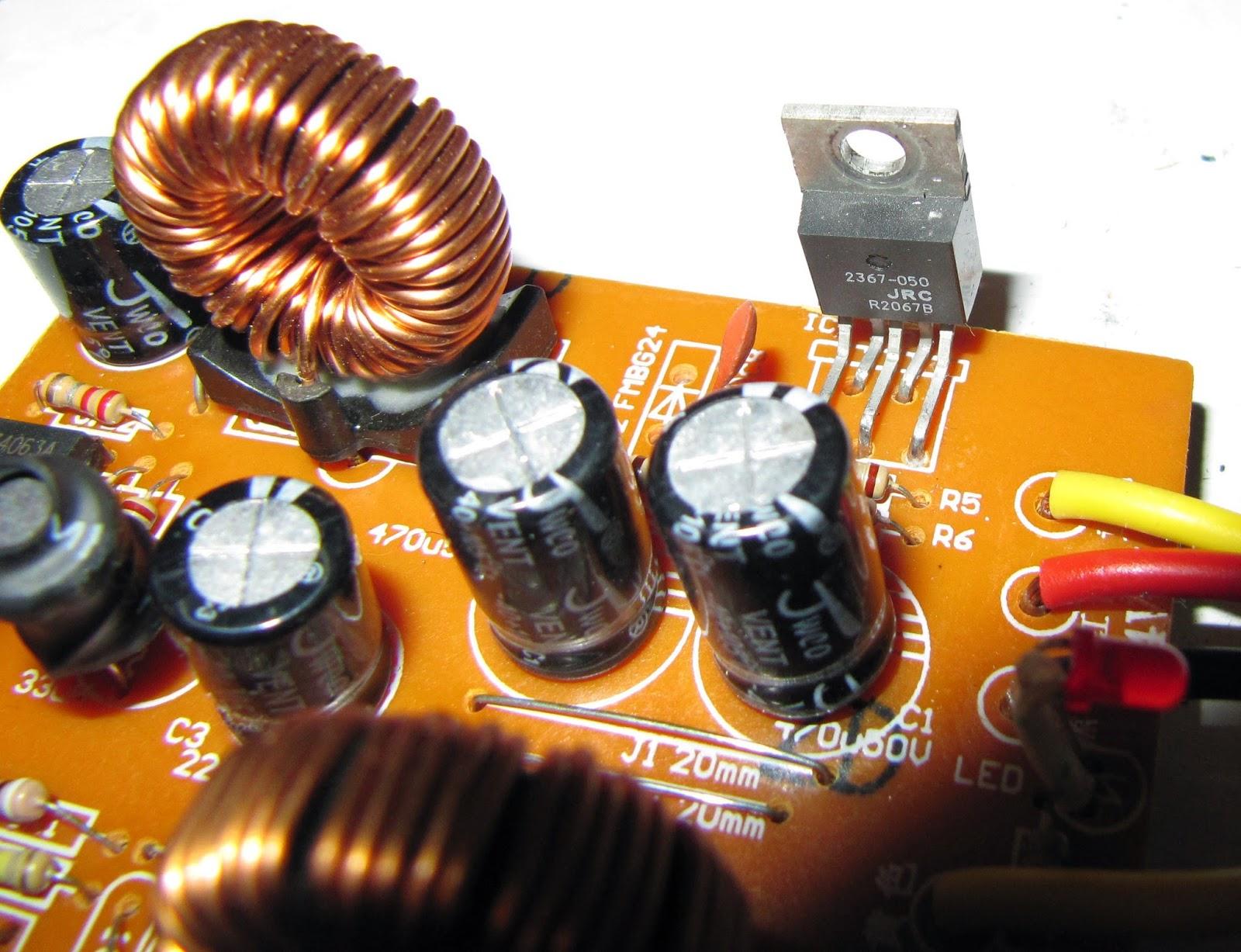схема.преобразователя.24 вольт.на.12 вольт