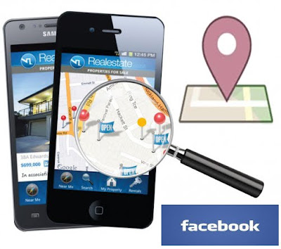 Facebook Launch Mobile Location Tracker