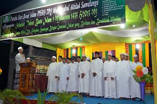 Abiya melantik para dewan guru TPA tahun 1435 H.
