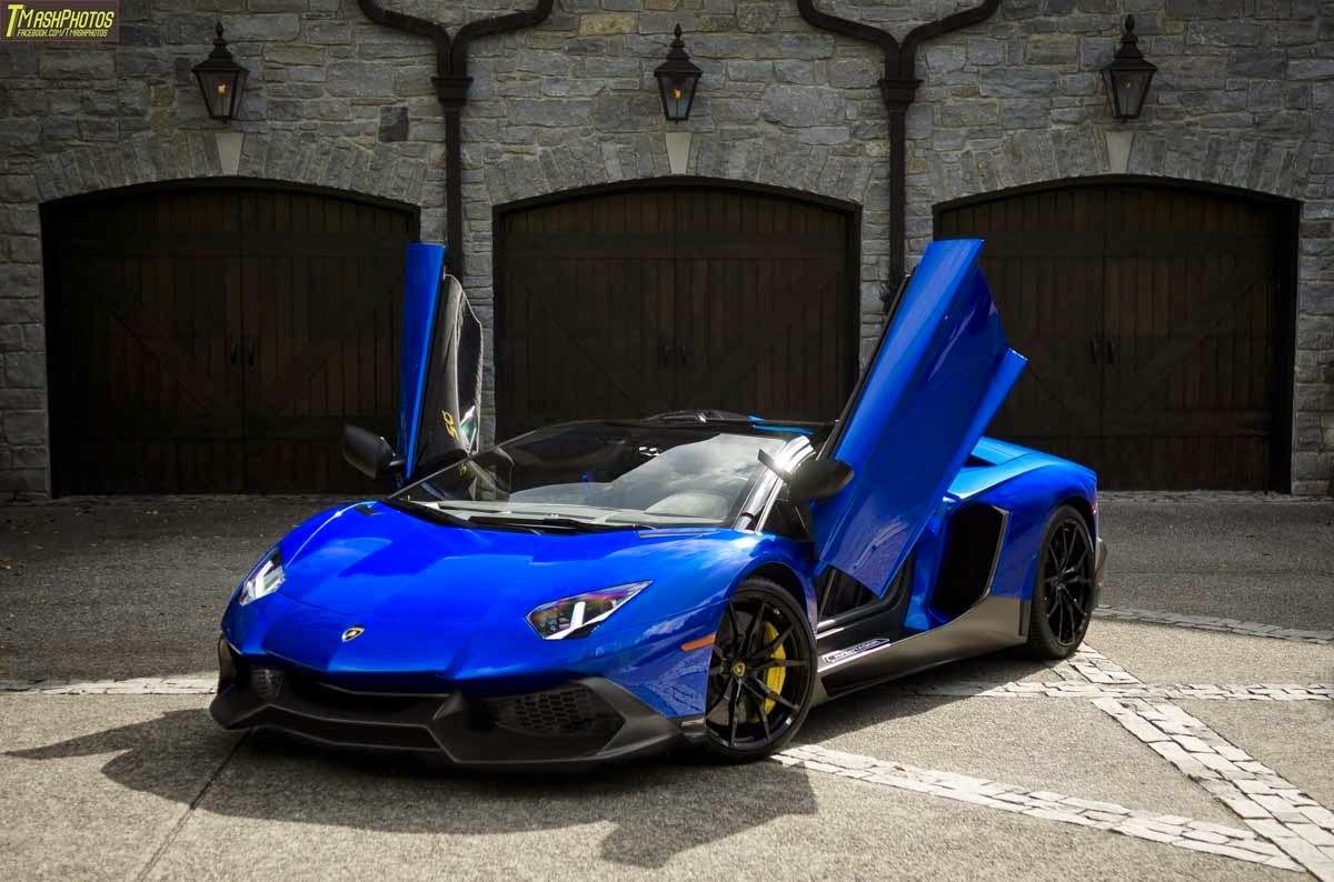 light blue lamborghini aventador dopepicz - Lamborghini Black And Blue