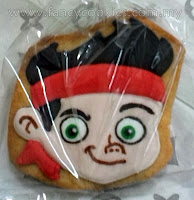disney's jake and the neverland pirates fancy cookies jake 1
