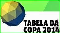 COPA DO MUNDO 2014: tabela completa de jogos