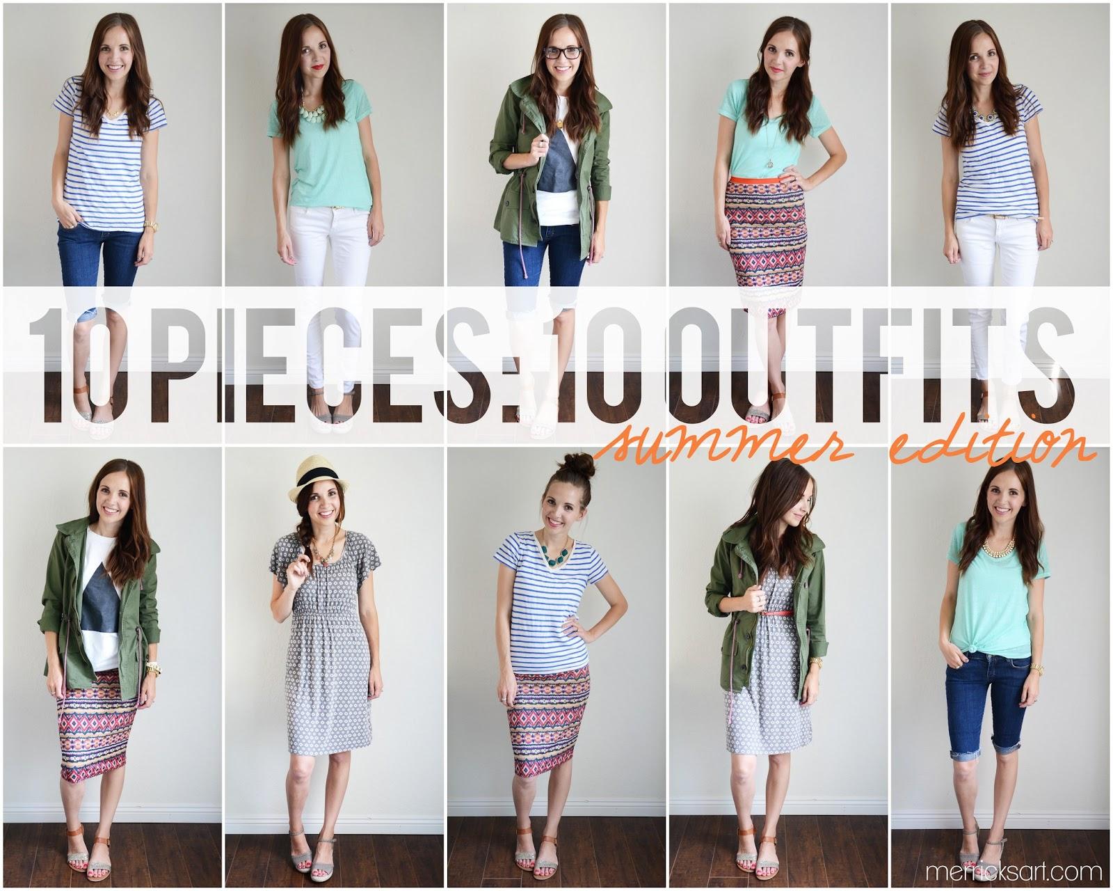 Wardrobe Essentials Summer Edition