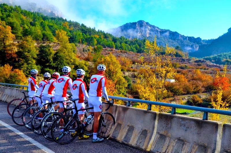Training camp with Montefusco Cycling