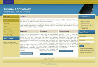 christian website templates