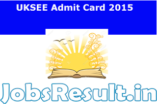 UKSEE Admit Card 2015