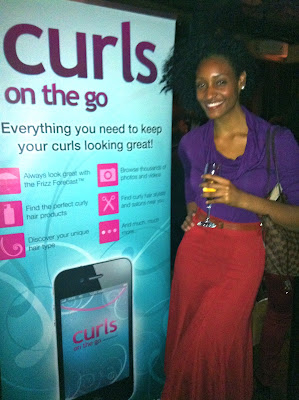 Cooling it at the Curly Nikki Natural Hair Meetup Event in NYC