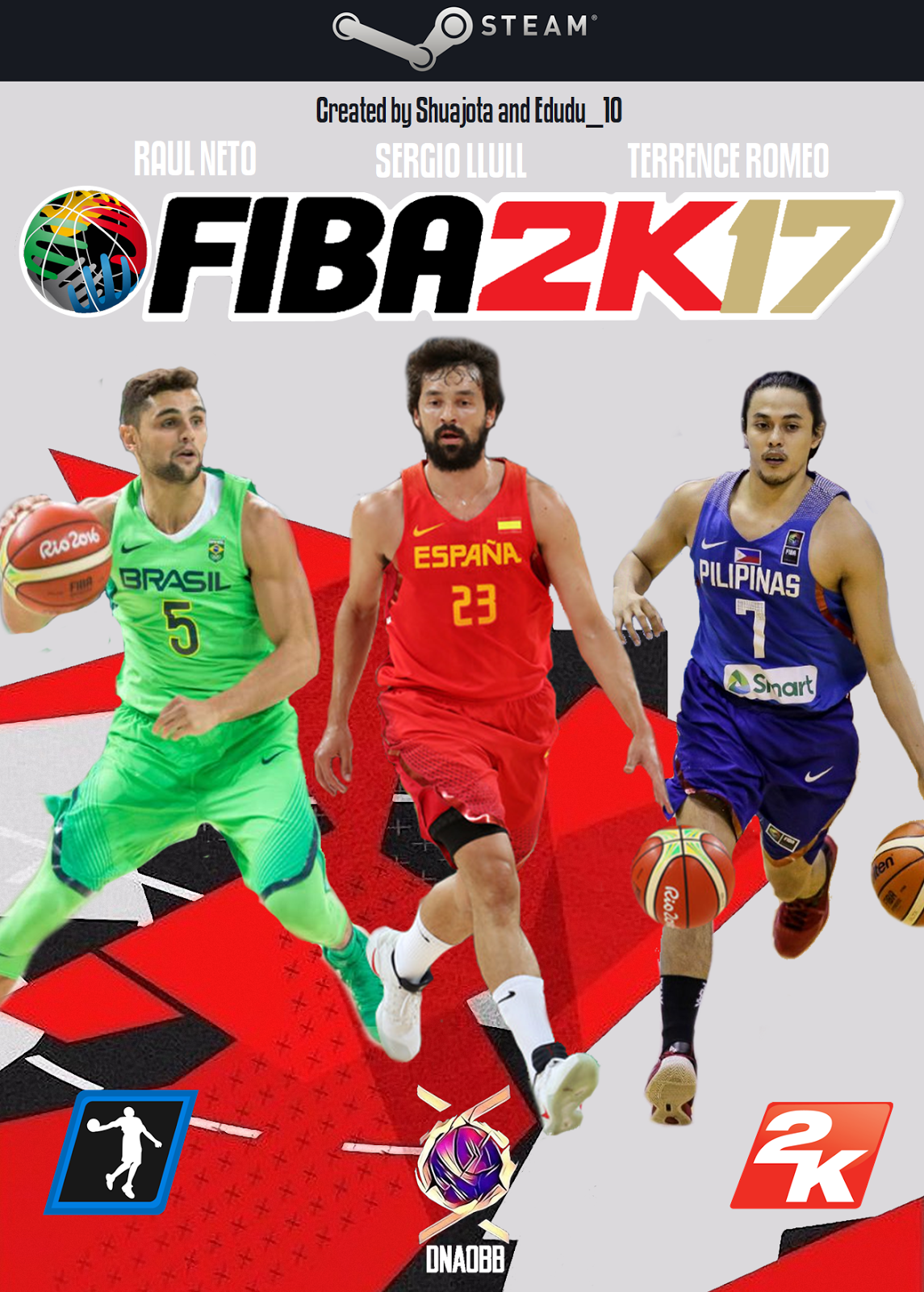 DNA Of Basketball | DNAOBB: FIBA 2K17 PC MOD [FINAL VERSION] RELEASED