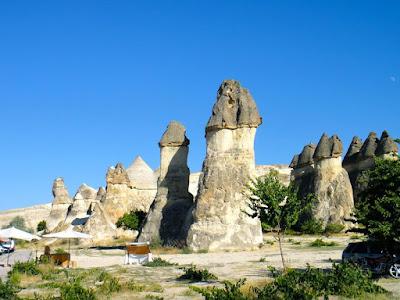 Zelve Soldier Fairy Chimney Rocks Turkey