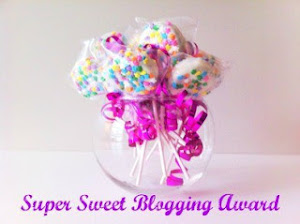 Premio Super Sweet Blogging Award (1) :)