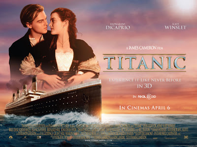 Titanic 3D poster