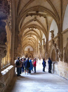 Claustro del monasterio de Oña - Estudio de las artes