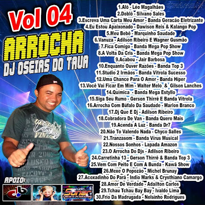 CD DE ARROCHA DJ OSÉIAS DO TAUÁ VOL 04