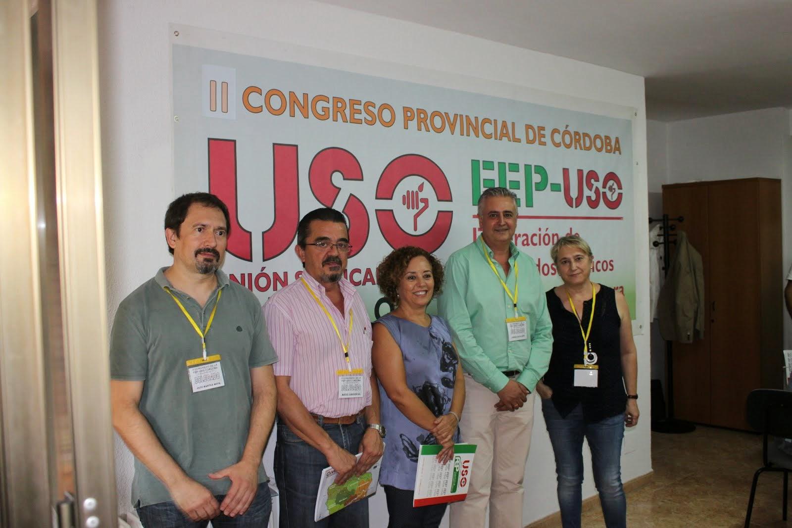 II Congreso Provincial FEP-USO Córdoba 18.9.14).