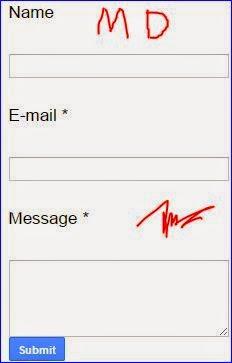 cara membuat halaman contact form