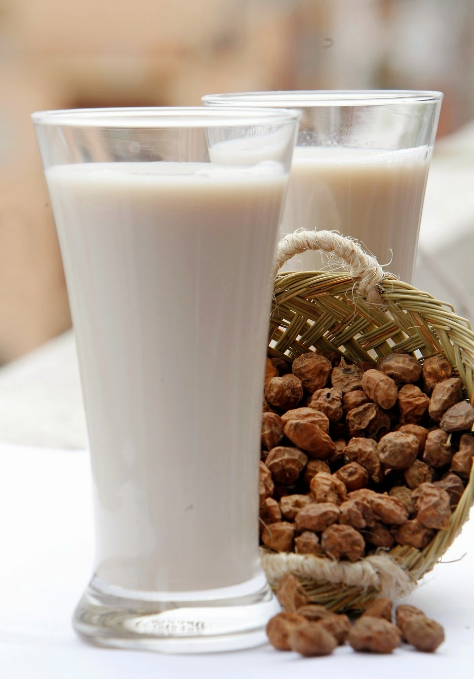 Horchata and tiger nuts