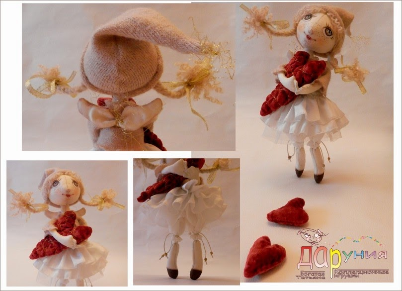 Кукла в подарок любимой