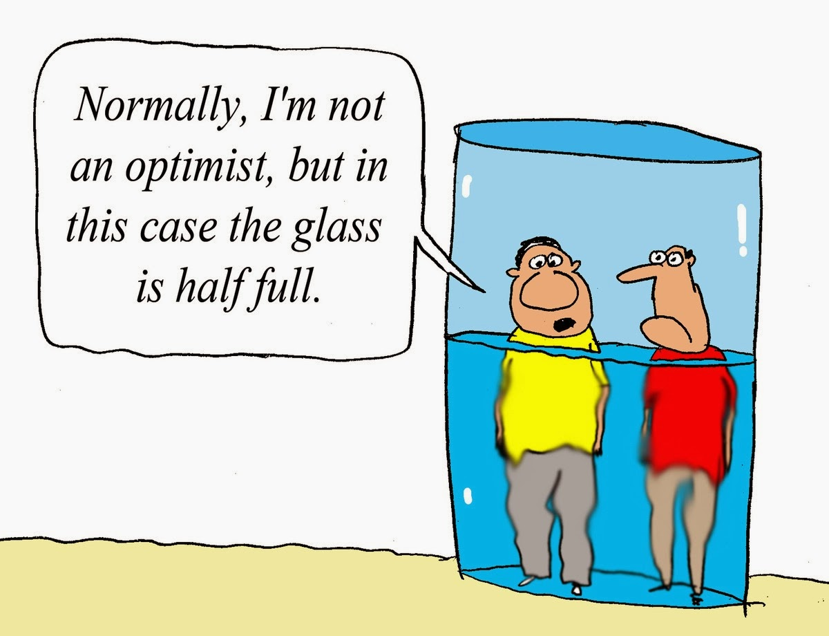 Do Not Worry - Half Full Glass