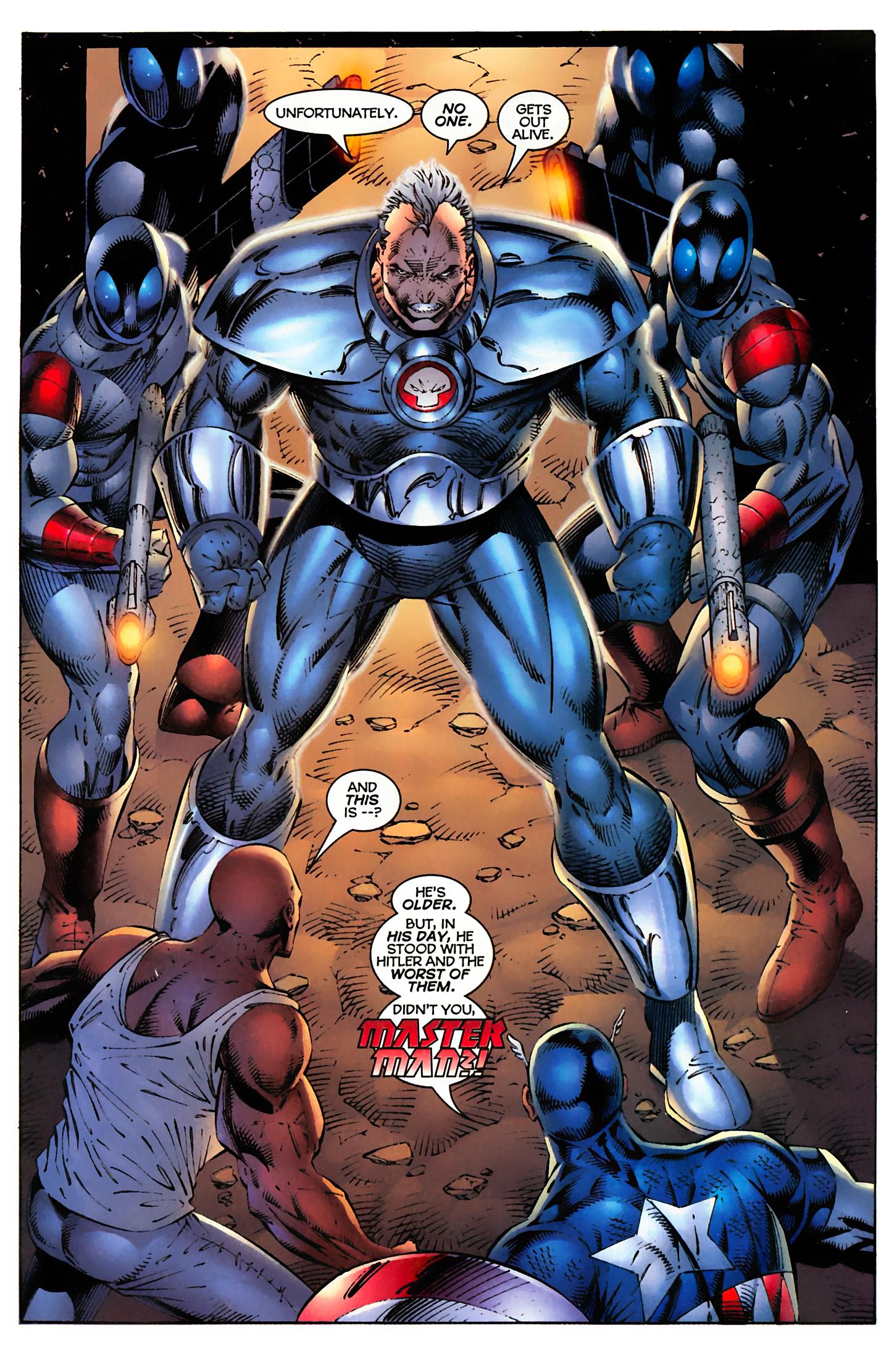 Captain America (1996) Issue #4 #4 - English 16