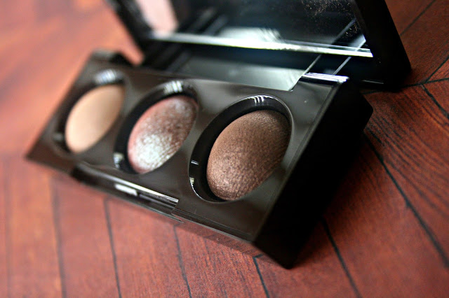 Laura Mercier Petite Baked Eye Color Bonbons in Bronze Trio Review, Photos & Swatches Laura Mercier Holiday 2013