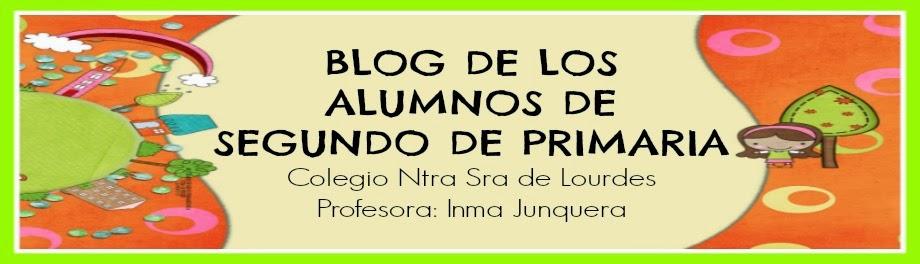 BLOG DE LOS ALUMNOS DE SEGUNDO DE PRIMARIA