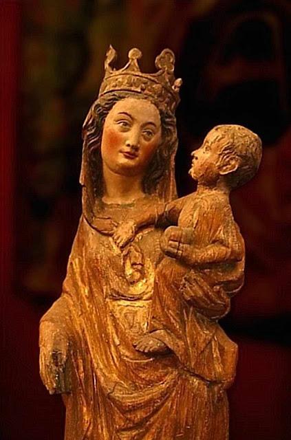 Nossa Senhora, século XIII, Museu de Cluny, Paris