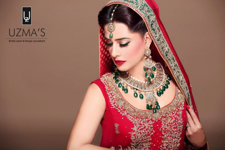 Exotic Wedding Makeup : Exotic Bridal Makeup For Barat Asian Clothing