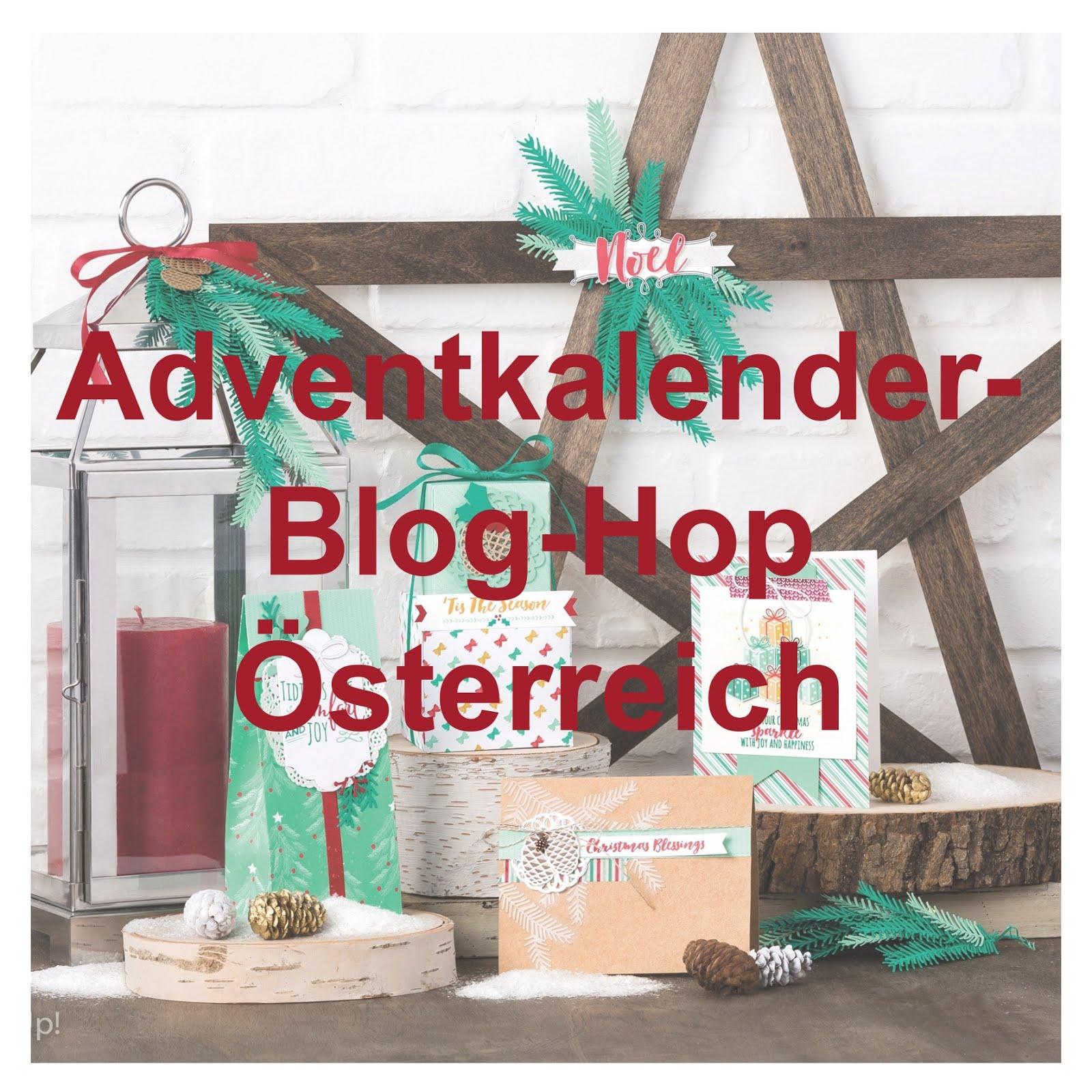 Adventkalender-Blog-Hop der österreichischen Stampin' Up! Demos
