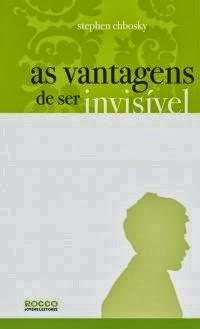 Joana leu: As vantagens de ser invisível, de Stephen Chbosky