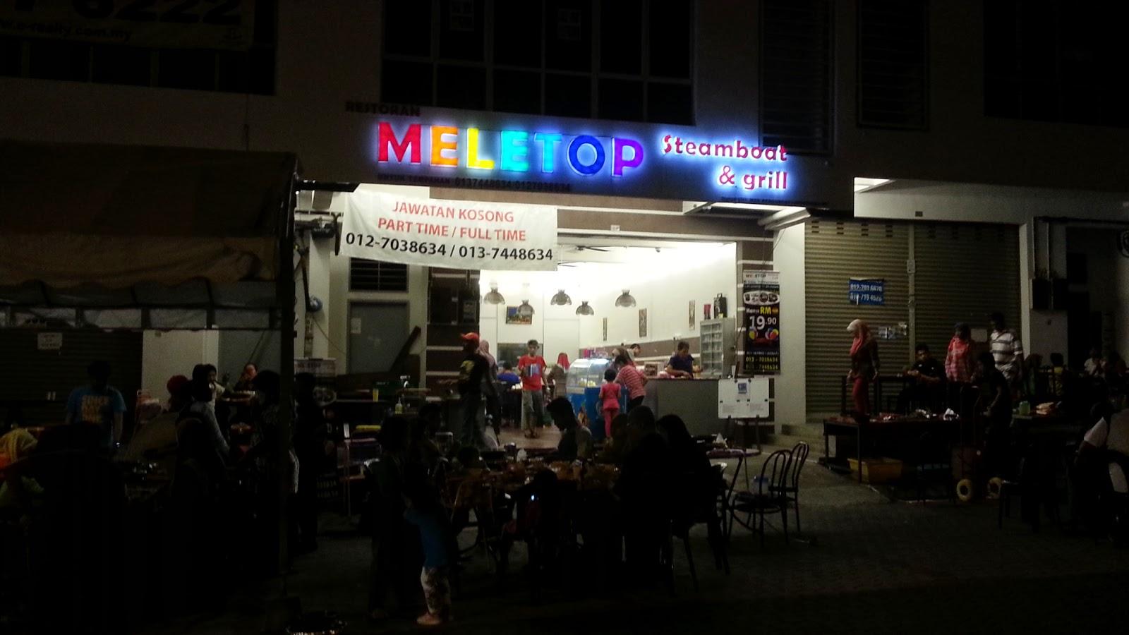 Restoran Steamboat Grill Meletop skudai johor