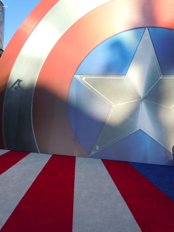 Captain America World Premiere shield