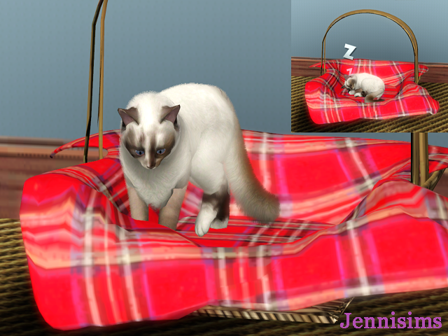 my sims 3 blog new pets bed by jennisims