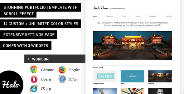 Halo WordPress Theme Free Download by ThemeForest.