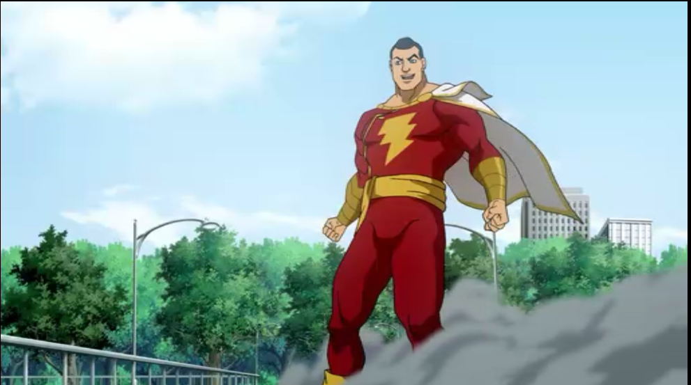 Back In The Real World Black Adam Has Defeated Superman Billy Shows Up Transforms Into Captain Marvel And His Characterization Here Is Great Too