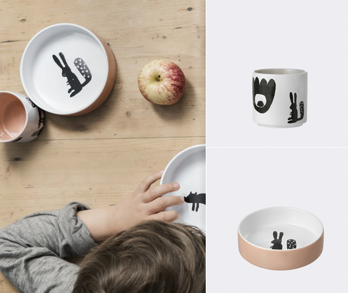 Ferm Living for children new collection ceramic