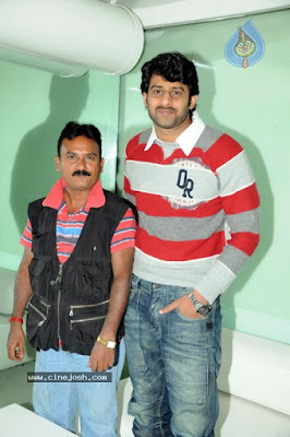 Prabhas with Friend