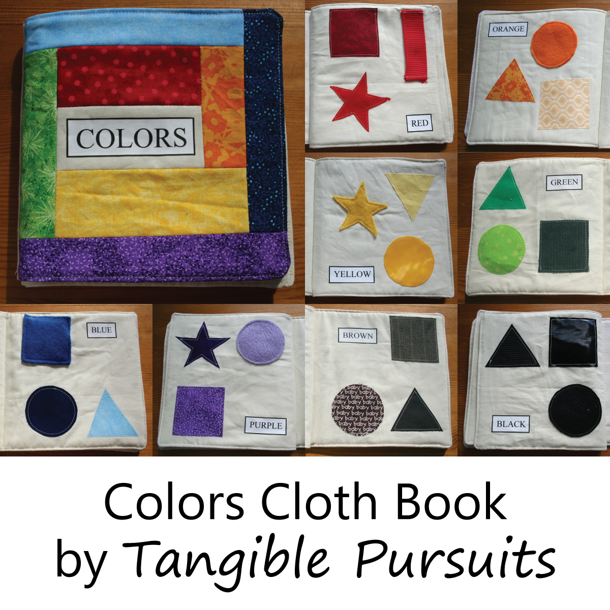 Colors Cloth Book by Tangible Pursuits