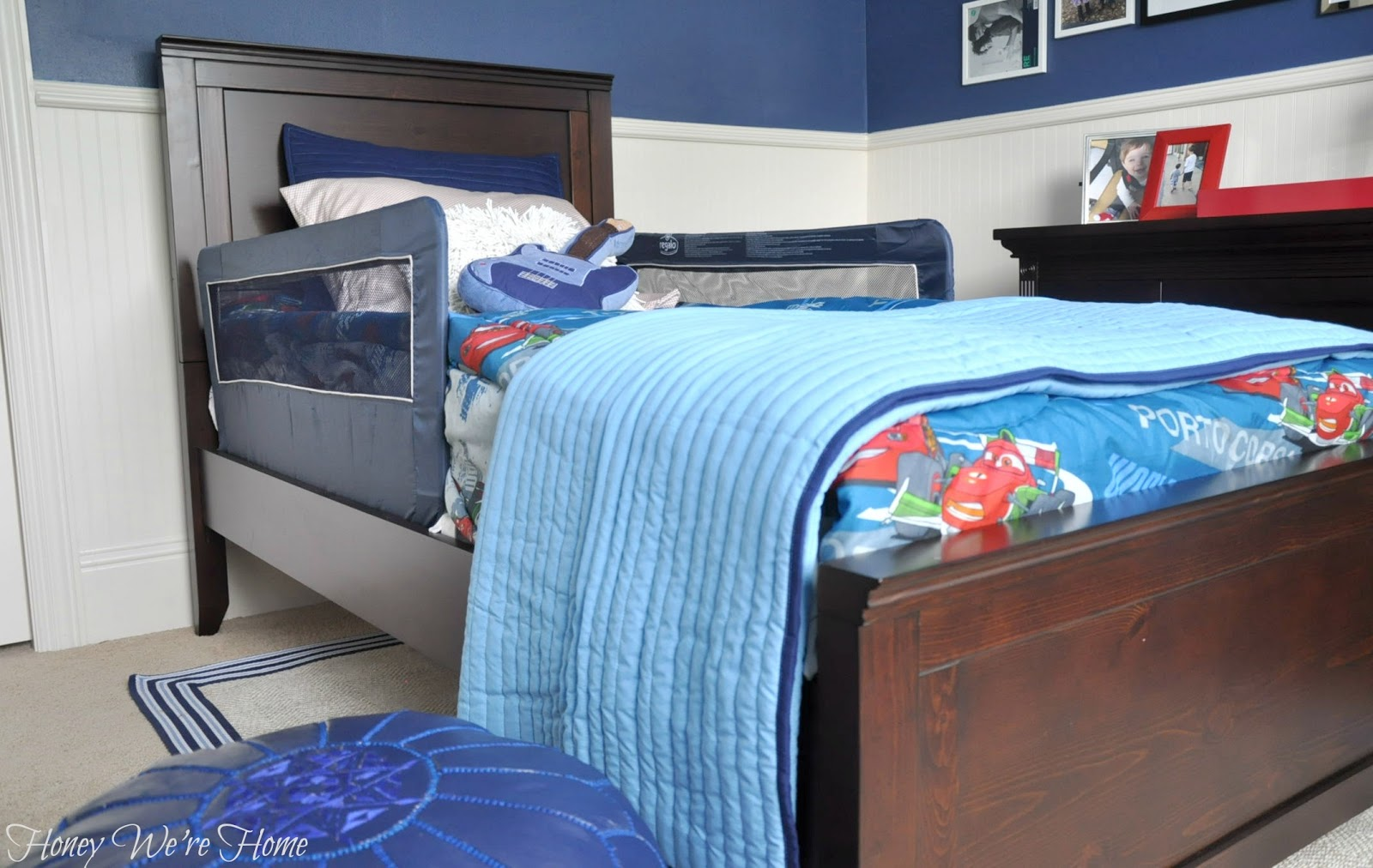 Big boy bed pottery barn hampton classic honey we 39 re home for House of hampton bedding