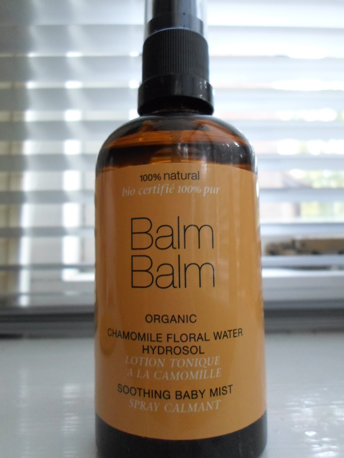Balm Balm Organic Chamomile Floral Water - Soothing Baby Mist