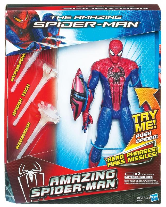 örümcek adam, örümcek adam oyuncağı