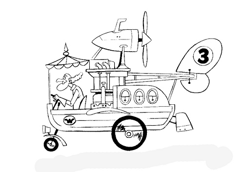Láminas para Colorear - Coloring Pages: Los Autos locos para ...
