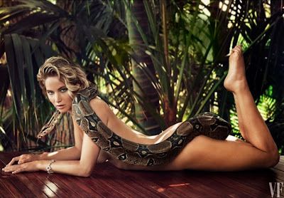 Jennifer Lawrence naked snake feet hot funny