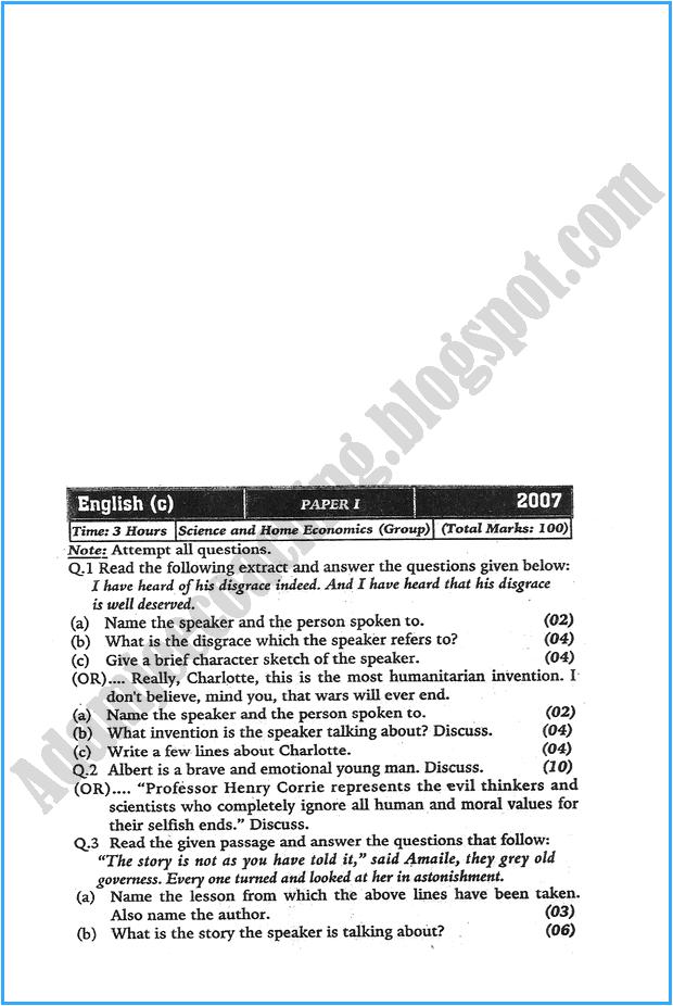 xi-english-past-year-paper-2007