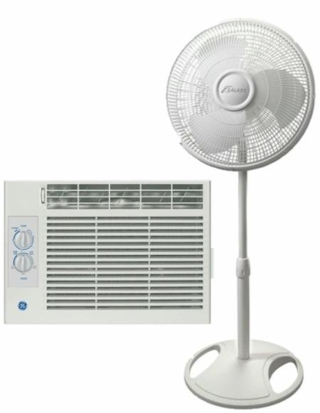 Galaxy Pedestal Fan : Daily cheapskate highly rated ge btu air
