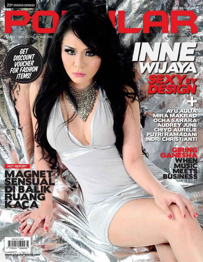 Inne Wijaya for Popular Magazine July 2013 Cover