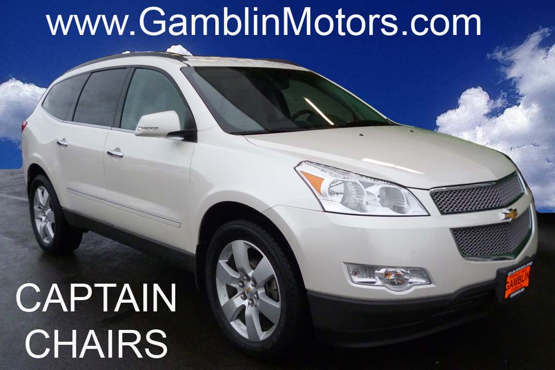 Gamblin motors 2012 chevrolet traverse ltz white is this a used 2012 chevrolet traverse ltz i think so you definitely need to see this art gamblin motors is your seattle chevrolet dealer publicscrutiny Gallery