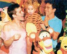 Fotos da família: Carol, Marquinhos e Davi