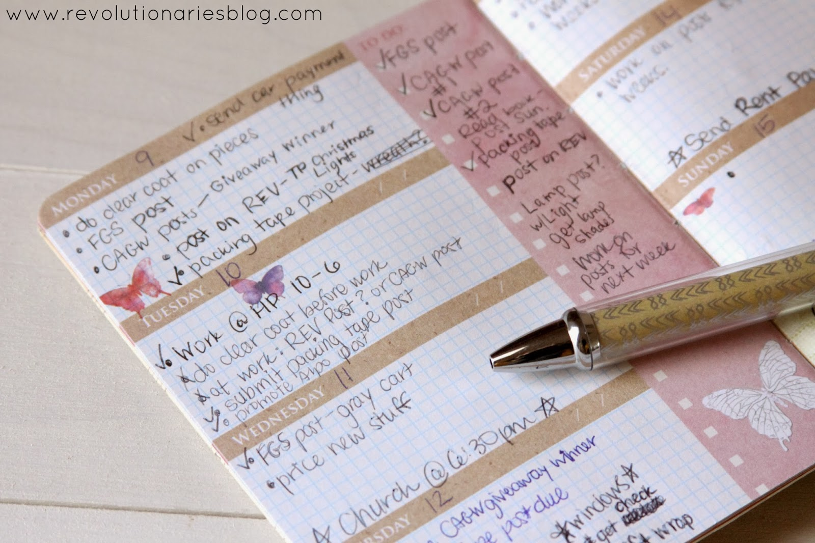 Blogging Tips: 5 Reasons You Should Have a Journal or Planner