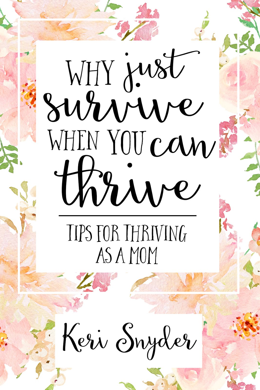 Recommended Reading: Why Just Survive When You Can Thrive